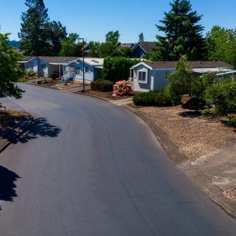 Street view of Meadowlark Estates